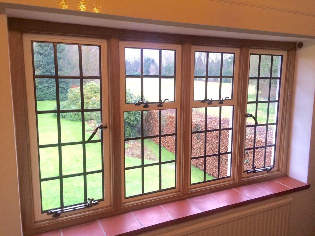 Sustainable, safe windows using chlorine chemistry