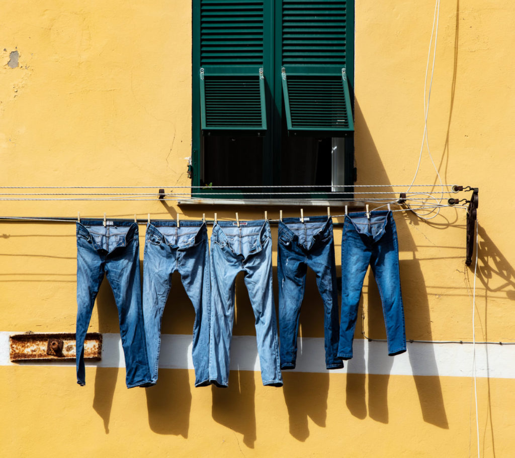 Your jeans can clean the air