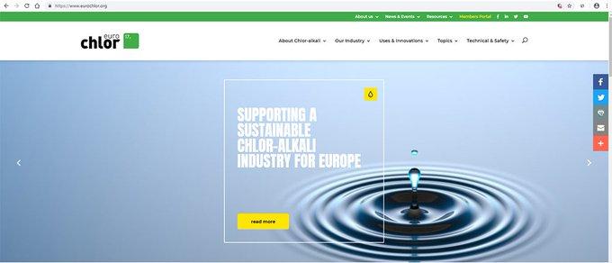 New Euro Chlor website highlights benefits of chlor-alkali